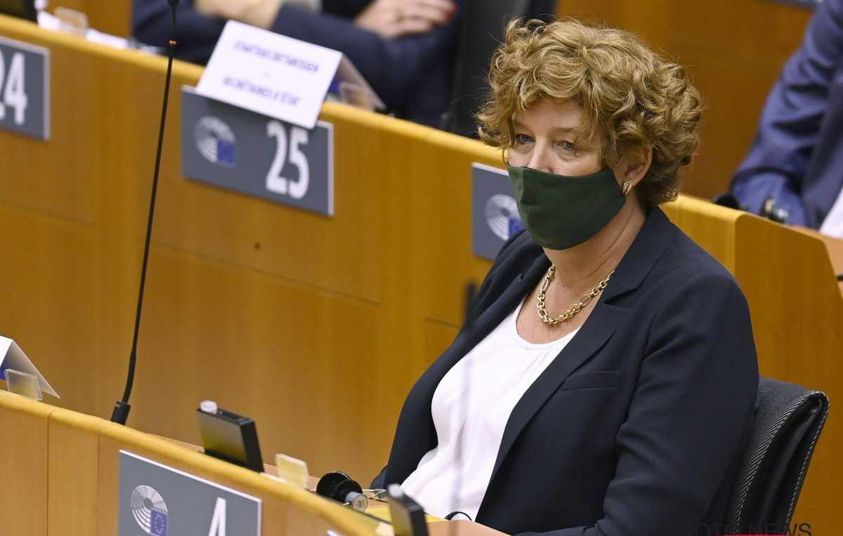 Petra De Sutter, nova vice-primeira-ministra da Bélgica é uma mulher trans. (Foto: Afbeelding bron: Photonews)